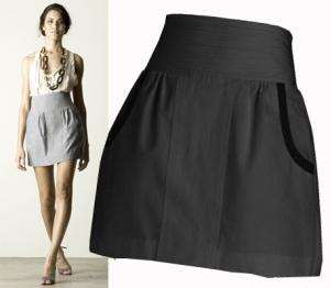 quero uma saia assim